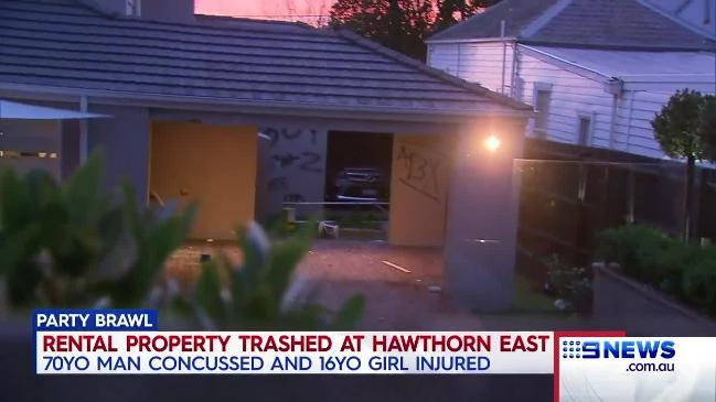 Rental property trashed after party in Melbourne's inner east (9 News)