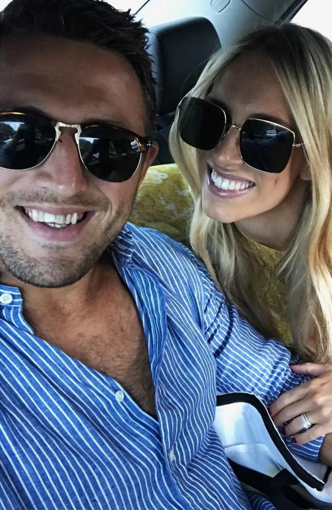 Sam and Phoebe were married for nearly four years before calling it quits for the second time earlier this month. Picture: Instagram / Sam Burgess