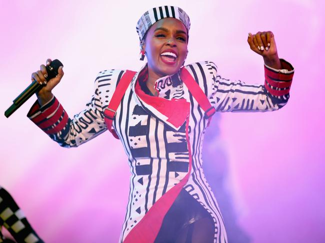 Janelle Monae performs onstage. Picture: Getty