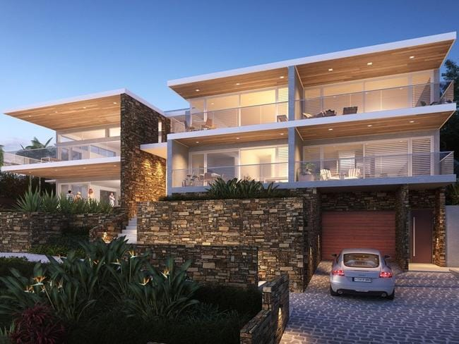 Se penthouse apartment, Campbell Cr, Terrigal.