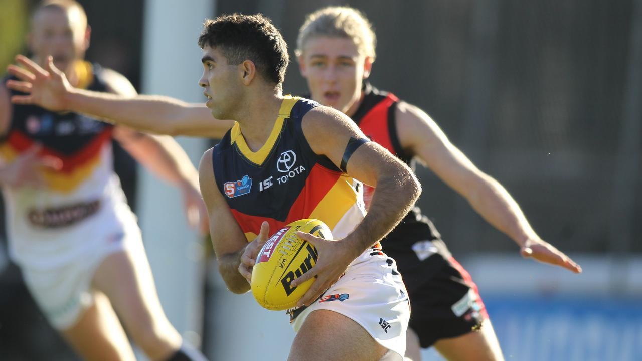 Adelaide's Tyson Stengle has shown good form in the SANFL.