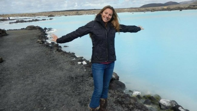 Sally in Iceland. Photo: Supplied