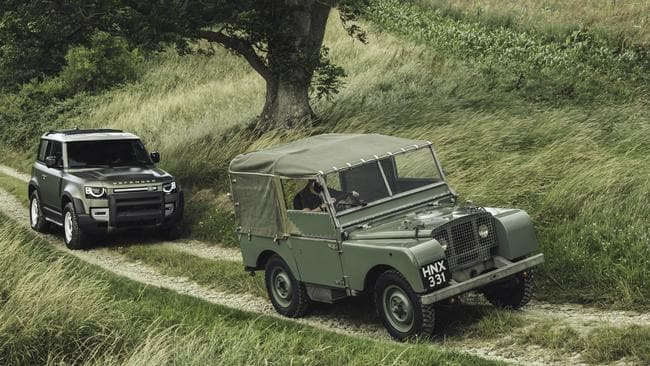 This is the first all-new Defender since the original in 1948.