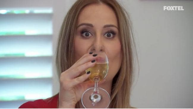 Ohhhhhh we've missed Jackie's champagneface