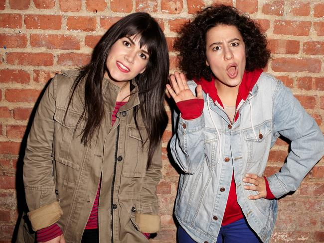 Abbi Jackson and Ilana Glazer created and star as the lead characters in  <i>Broad City</i>.
