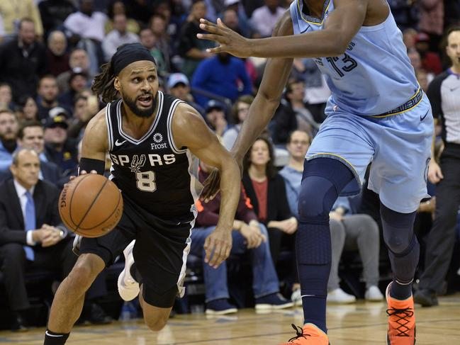 Aussie Patty Mills was doing a job for the Spurs.