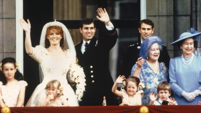 Fergie said her wedding ceremony to Prince Andrew had been like a fairytale, but wedded life was a different story.