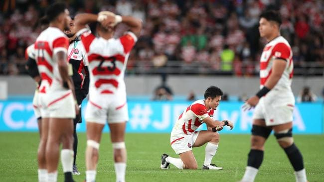 Rugby World Cup 2019: Japan Vs South Africa, reaction, result, quarterfinal  scores