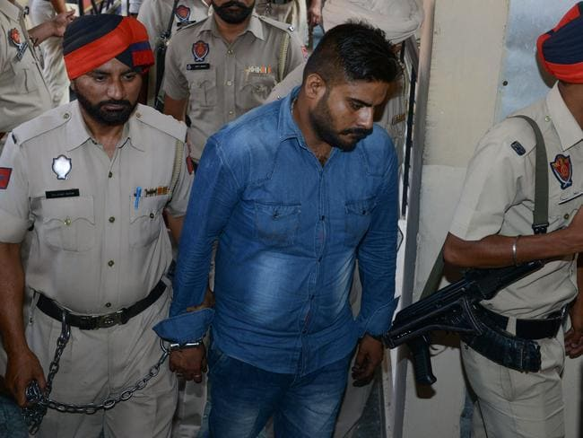 Deepak Khajuria was jailed for life over the shocking murder. Picture: AFP
