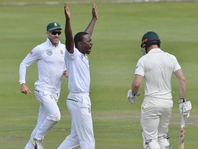 Australia had no answers for Rabada.
