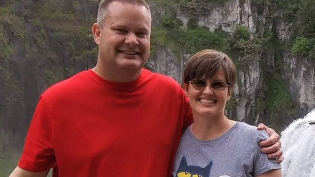 Chad Daybell and Tammy Daybell. Picture: NBC News