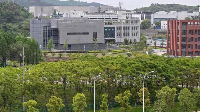 The Wuhan Institute of Virology in Wuhan. Picture: AFP.