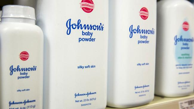 Johnson & Johnson insists its talc products, including Baby Powder, are safe and don't cause cancer. Picture: Lucas Jackson/Reuters.