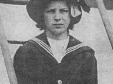 Violet Madeline Mellinger was just 13 when she was forced to sit in a half-empty lifeboat and listen to the screams of those dying in the freezing water around her. Picture: encyclopaedia-titanica.org
