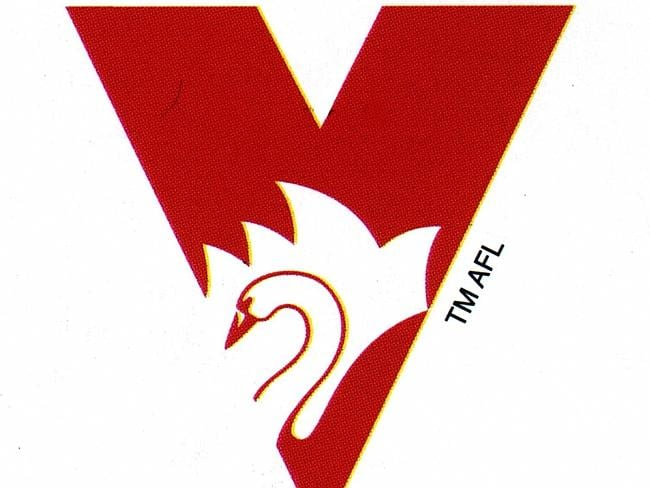 See the Opera House in the Sydney Swans logo.