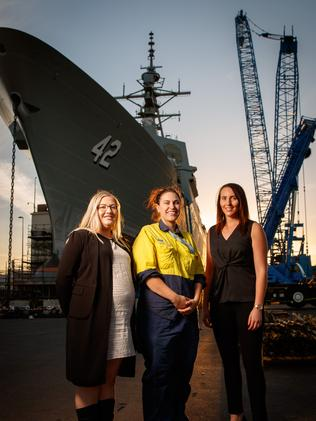 Female shipbuilders want more SA women to get on board | Adelaide Now
