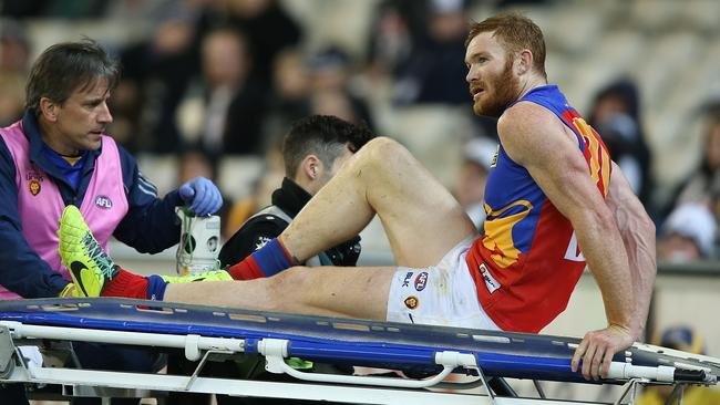 It wasn't all good news for the Lions with Daniel Merrett injuring his ankle.