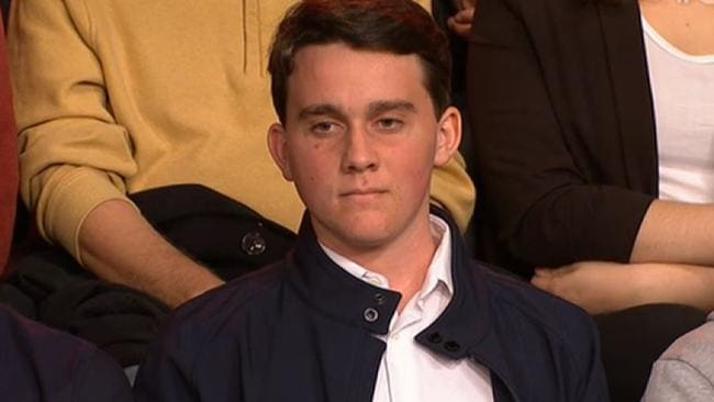 A disillusioned Young Liberal who said he's consider voting Labor because of the leadership spill.