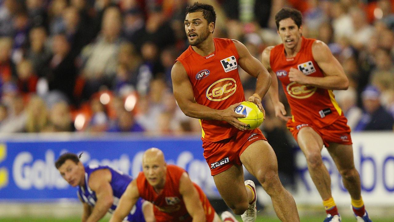 Karmichael Hunt has opened up on his time in the AFL.