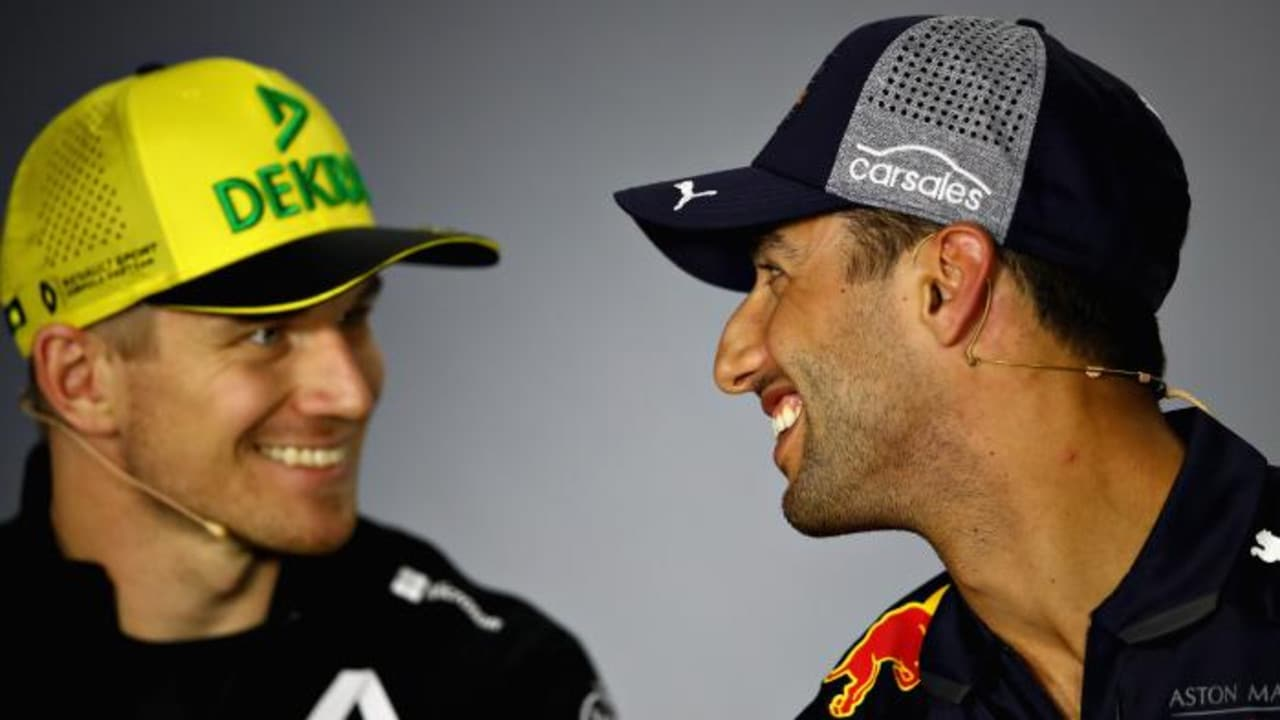 Nico Hulkenberg and Daniel Ricciardo are now two of the more senior drivers on the grid.