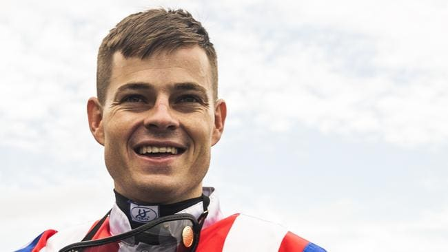 Aaron Bullock admits there were times he struggled mentally and physically to get back to his riding weight after a long break. Picture: Jenny Evans