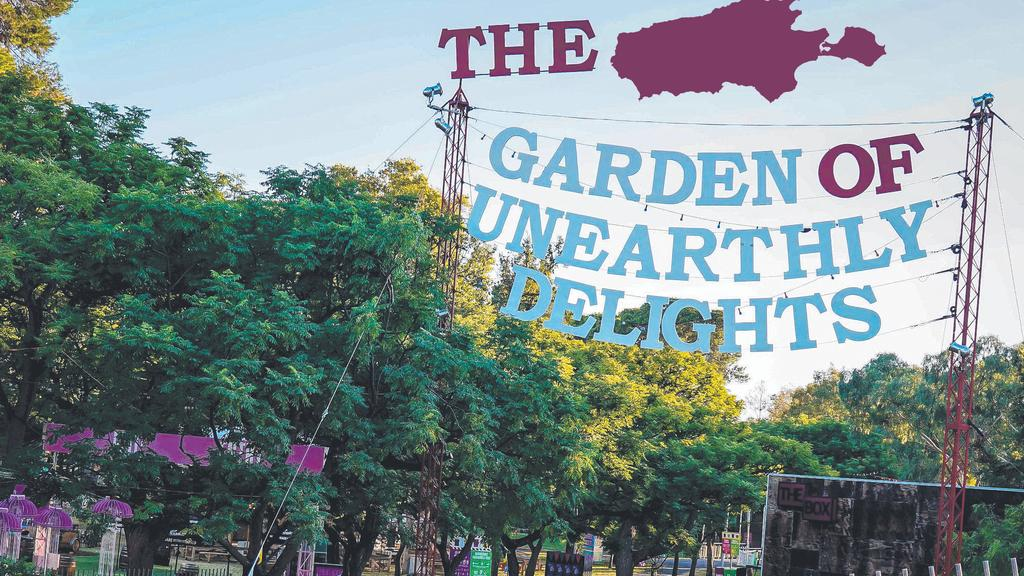 The Garden of Unearthly Delights is coming to Kangaroo Island. (Digitally altered image)