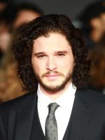 "Pulling his best John Snow expression, Game of Thrones actor Kit Harington attends the screening of ""Testament of Youth"" at Odeon Leicester Square in London. Picture: Getty"
