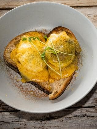 Eggs Benedict. Picture: Supplied