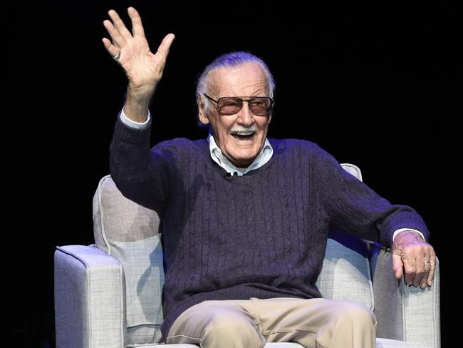 Stan Lee dies aged 95. Picture: Chris Pizzello/Invision/AP