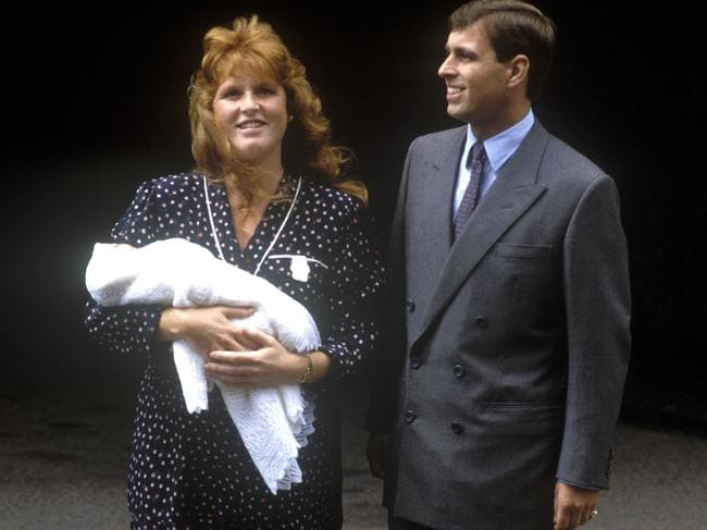 Prince Andrew, Duke of York, and Sarah, Duchess of York, in happier times. She has staunchly defended her ex even after their 1996 separation. Picture: John Shelley/Getty Images