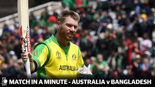 Match in a Minute - Australia v Bangladesh