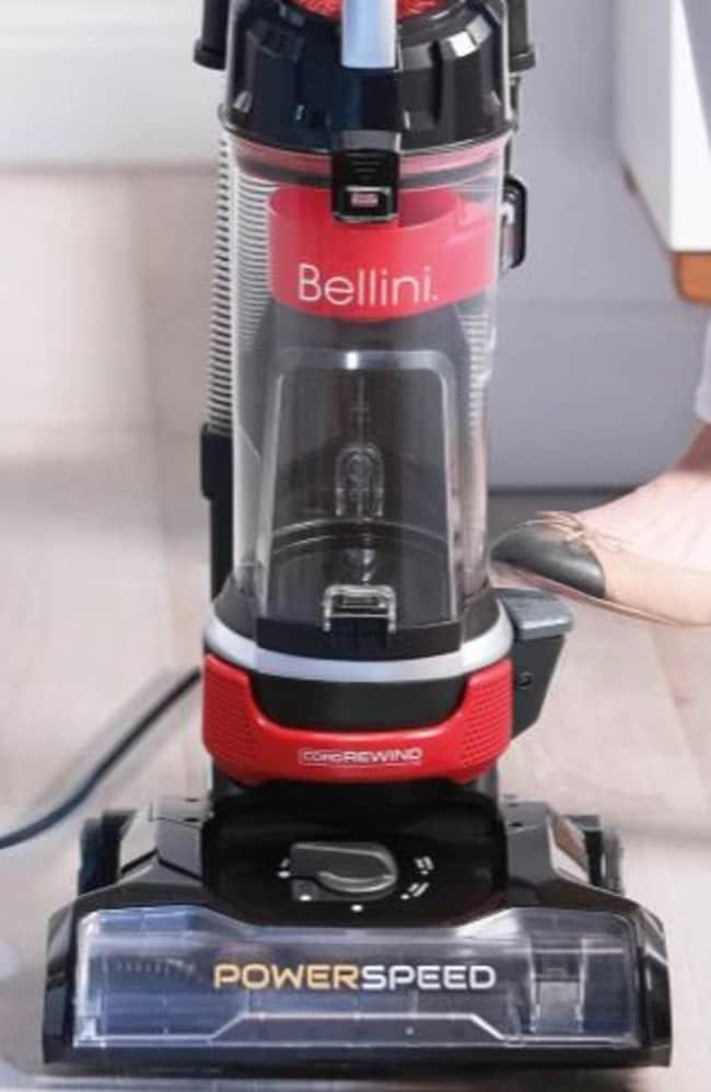 Target's Bellini pet bagless upright vacuum cleaner retails for $119.