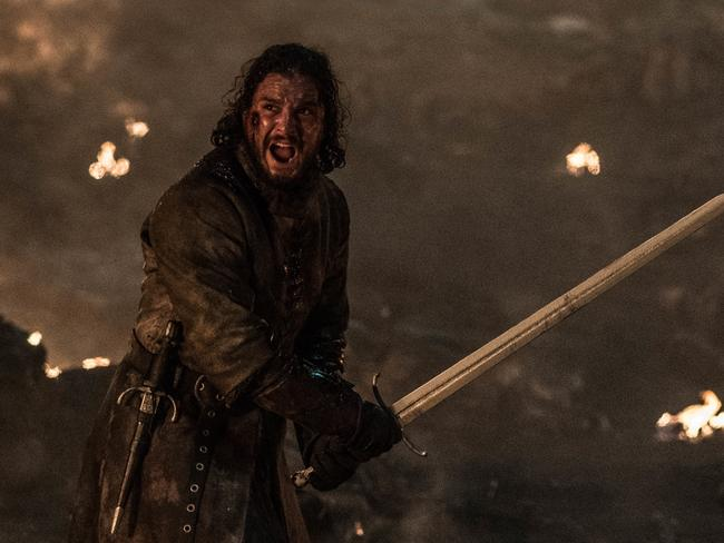 Jon's actions during the Battle for Winterfell puzzled viewers. Picture: Foxtel