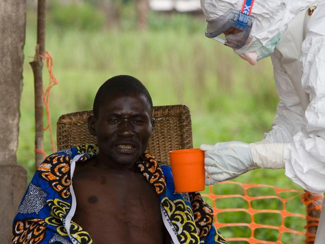 The Democratic Republic of the Congo is facing a new epidemic of ebola haemorrhagic fever. Picture: AFP.