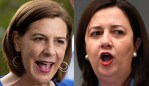 Composite image of Deb Frecklington and Annastacia Palaszczuk for thumbnail