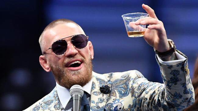 McGregor has previously said he'd love to fight in the WWE.