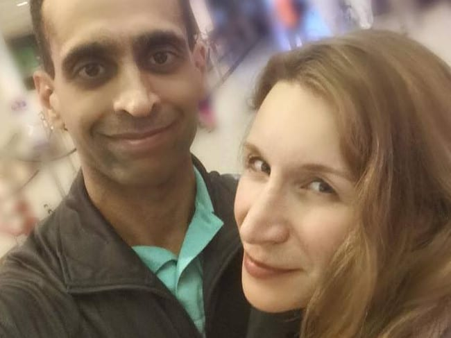 Elana Fric-Shamji was found stuffed in a suitcase after filing for divorce. Picture: Facebook
