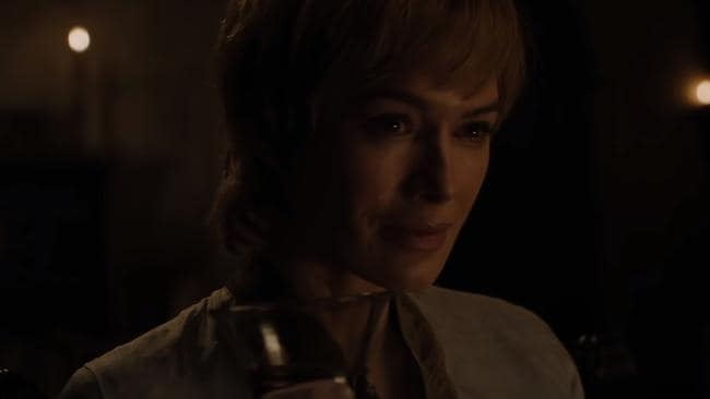 Who is Cersei smiling at?