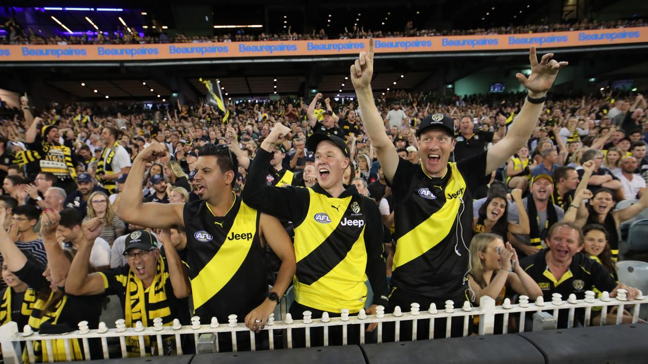 The AFL is set for a crowd of 50000 at the season-opening blockbuster – NEWS.com.au