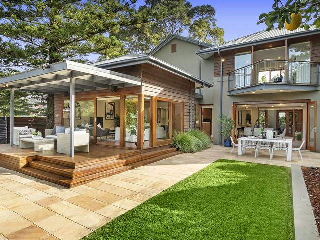 Outdoor entertainment. Picture: Belle Property Lane Cove