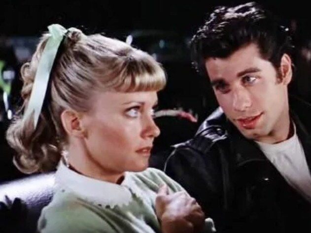Olivia Newton John and John Travolta in Grease. Picture; Supplied