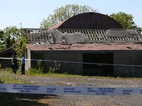 Police initially mistook Anafor a mannequin when they found her broken body in this derelict farmhouse in Lucan, south Dublin. Picture: Supplied