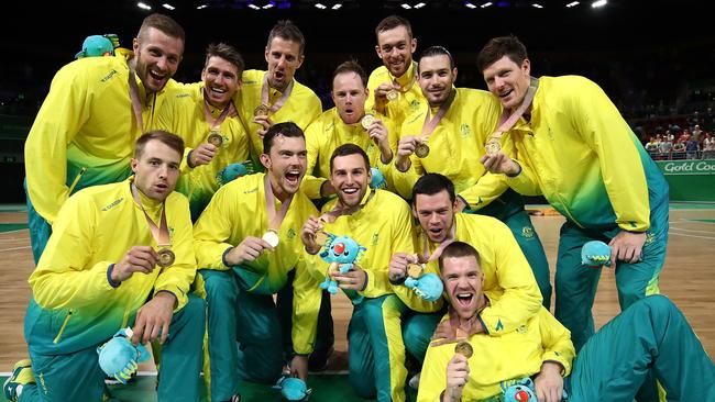 Gold medalists Australia.