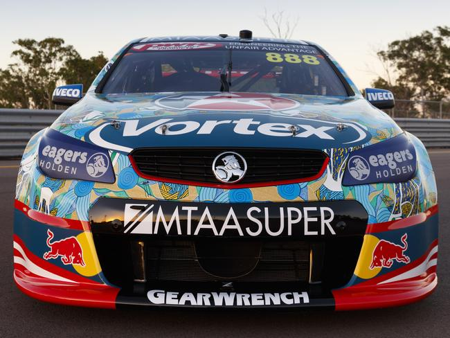Craig Lowndes' new livery for Darwin.