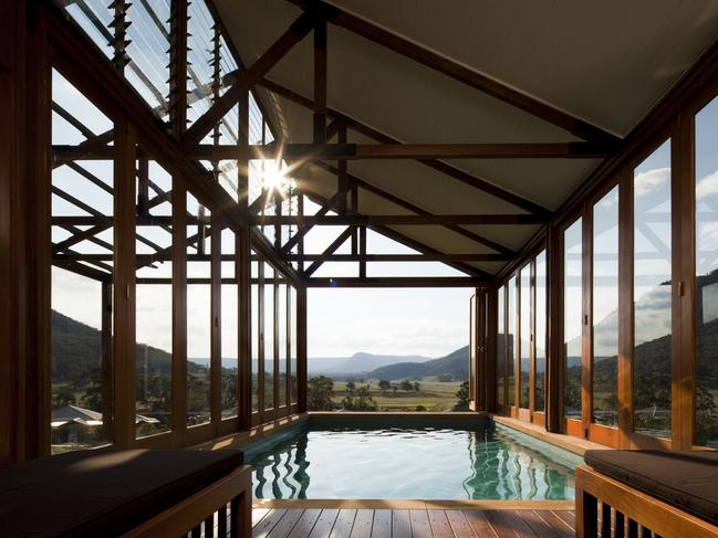 The luxury retreat is back in business after the Blue Mountains fires. Picture: One&Only