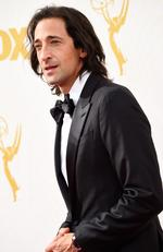 Adrien Brody attend the 67th Annual Primetime Emmy Awards in Los Angeles. Picture: Getty