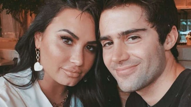 Demi Lovato splits with fiance Max Ehrich and 'thinks he's sketchy' – NEWS.com.au