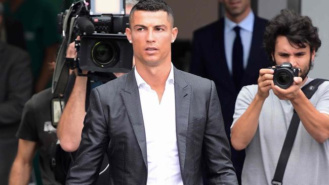 Cristiano Ronaldo has been sharing the wealth