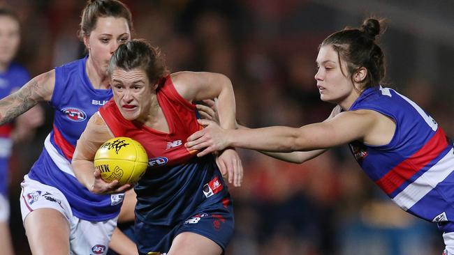 The Western Bulldogs v Melbourne clash is one of five big AFL Women's fixtures to watch for.