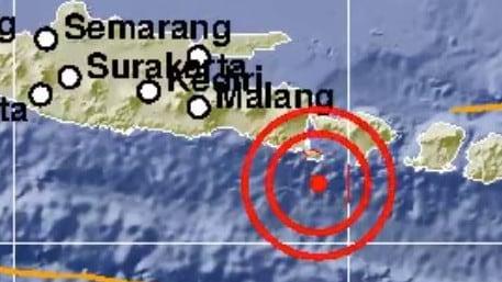 Magnitude 6.2 quake hits Bali hotspot